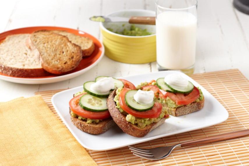 Falafel-Avocado Toast